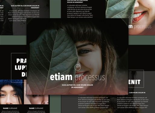 Presentation Templates: Efficient 02 Powerpoint and Google Slides Presentation Template #04605