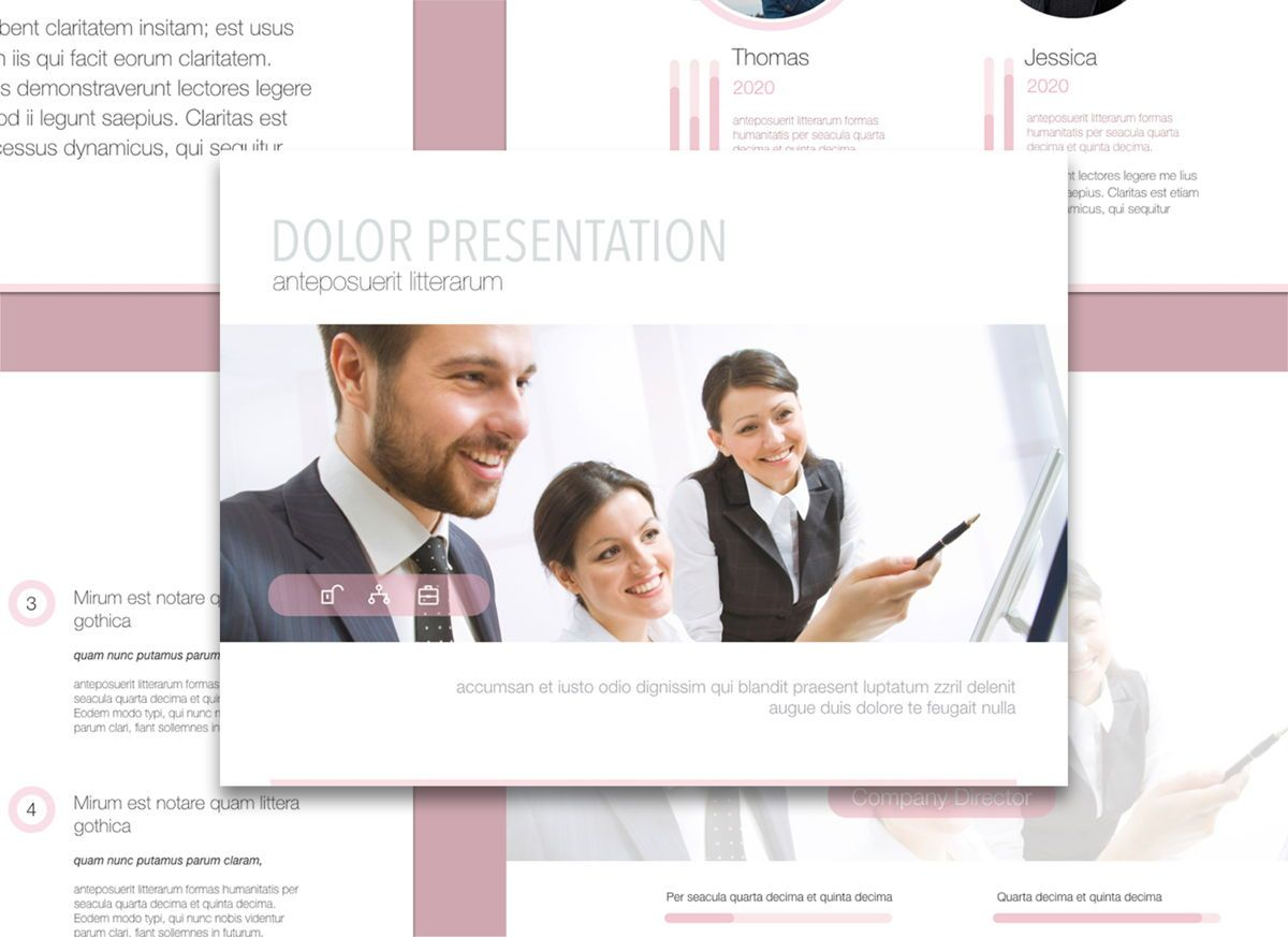 Encouragement Powerpoint and Google Slides Presentation Template, 04606, Präsentationsvorlagen — PoweredTemplate.com