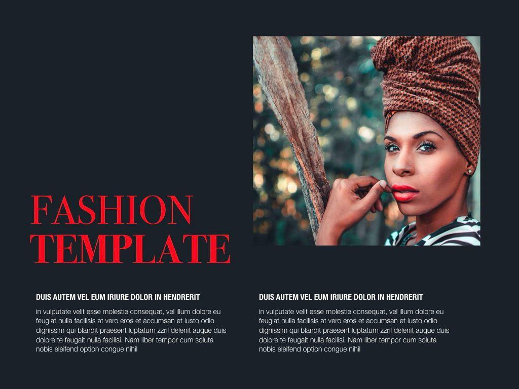 Fashion Tale Powerpoint and Google Slides Presentation Template, Folie 2, 04608, Präsentationsvorlagen — PoweredTemplate.com