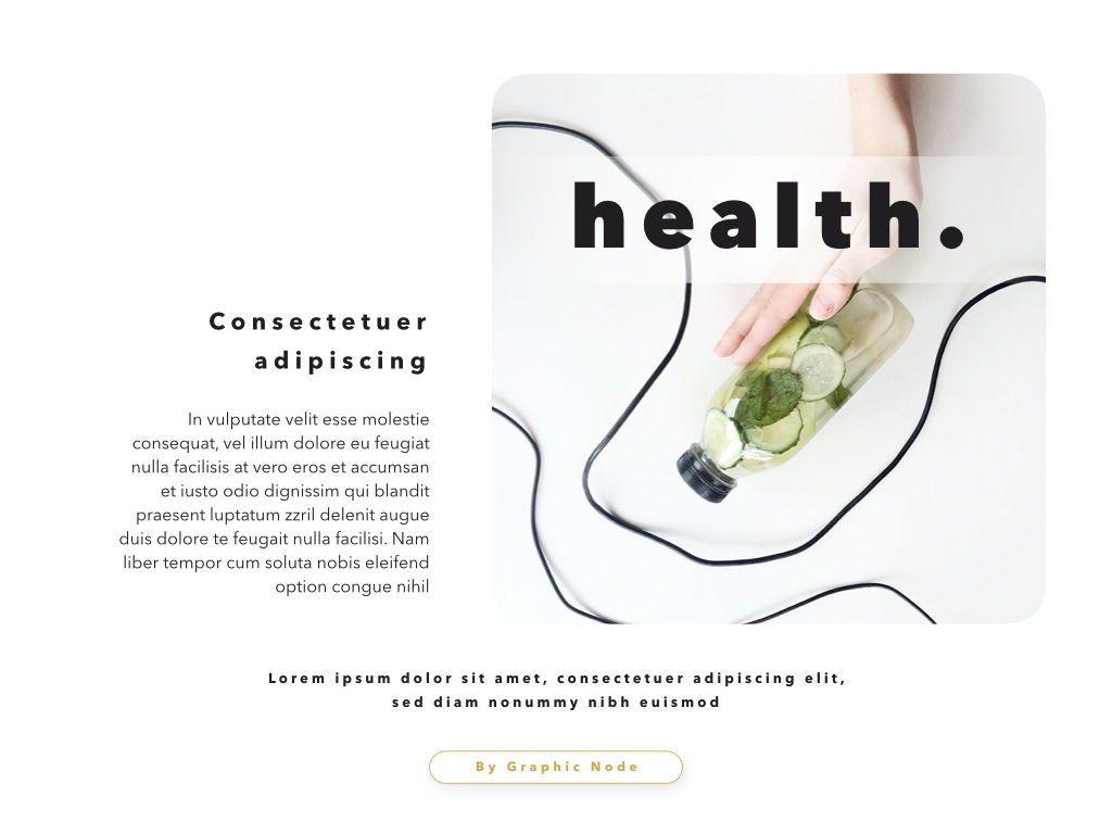 Healthy Powerpoint and Google Slides Presentation Template, Folie 13, 04610, Präsentationsvorlagen — PoweredTemplate.com