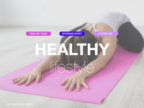 Presentation Templates: Lifestyle Choice Powerpoint and Google Slides Presentation Template #04616