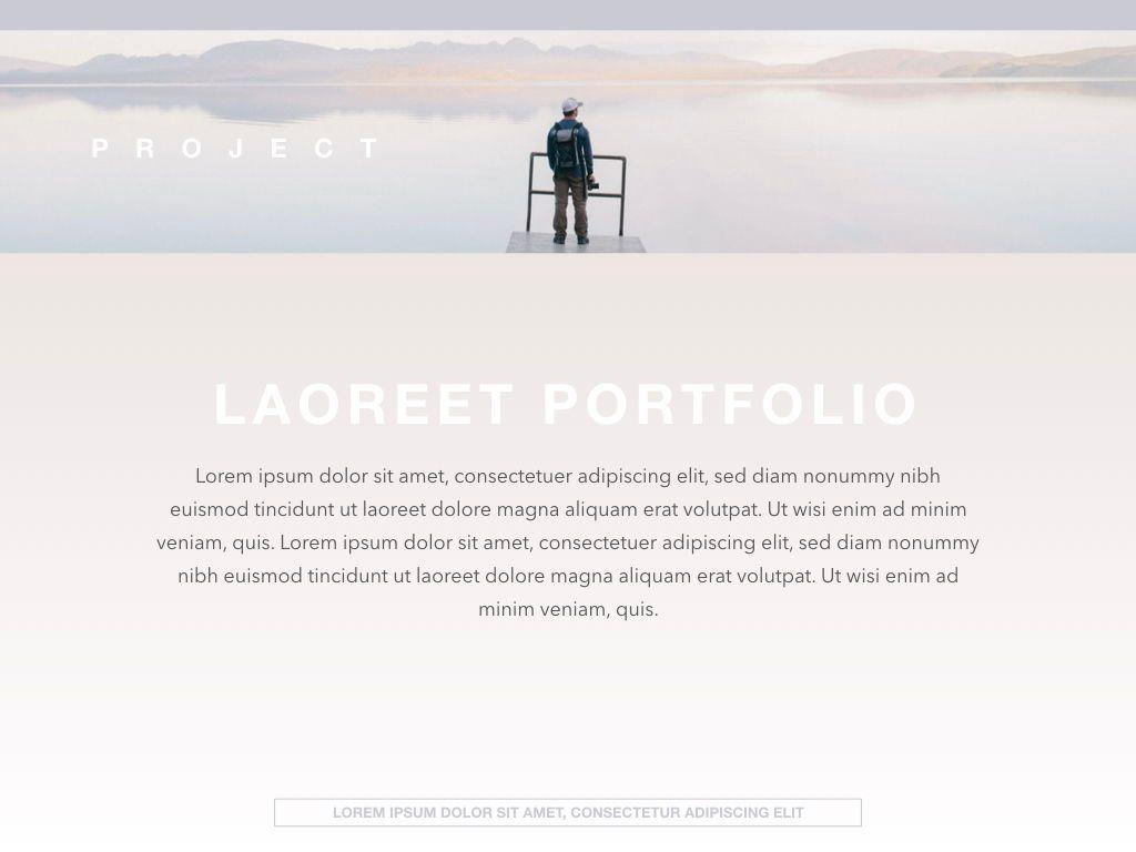 Pastel Portfolio Powerpoint and Google Slides Presentation Template, Slide 2, 04620, Presentation Templates — PoweredTemplate.com