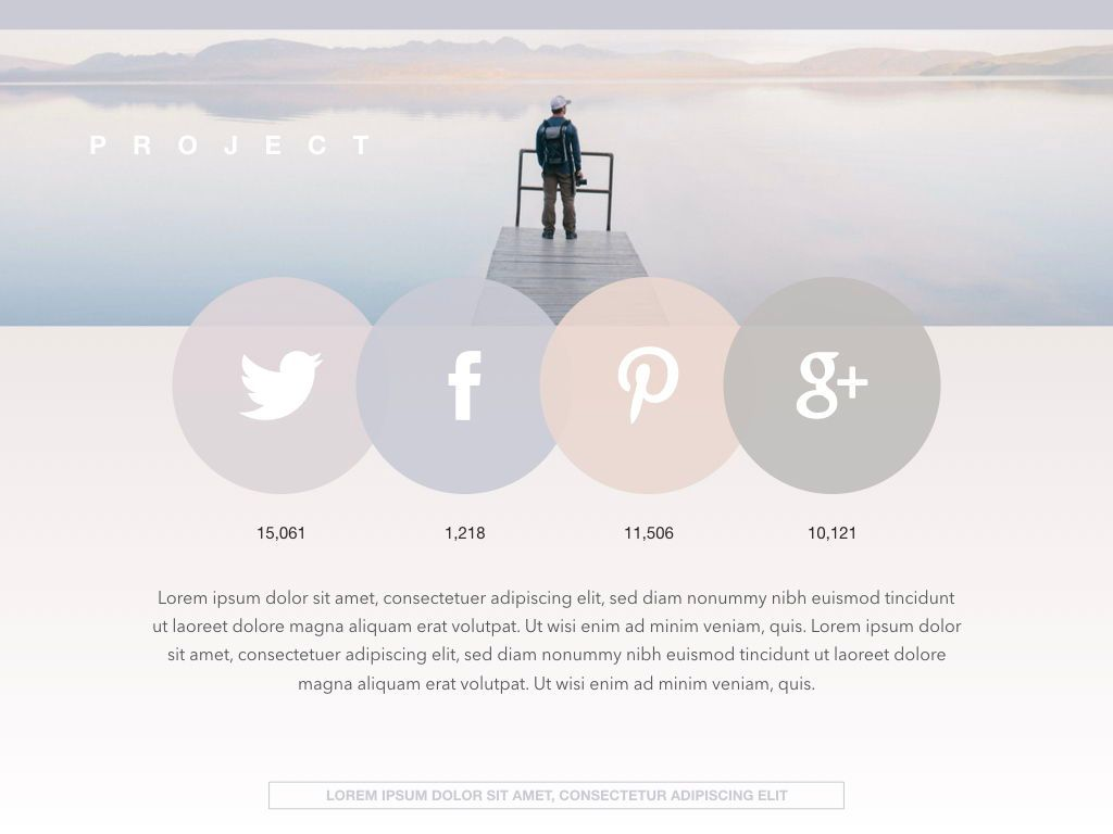 Pastel Portfolio Powerpoint and Google Slides Presentation Template, Slide 3, 04620, Presentation Templates — PoweredTemplate.com