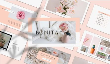 Presentation Templates: BONITA - PowerPoint Template #04624