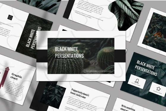 Presentation Templates: LEAF - PowerPoint Template #04626