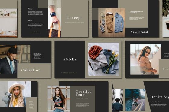 Presentation Templates: AGNEZ PowerPoint Template #04627