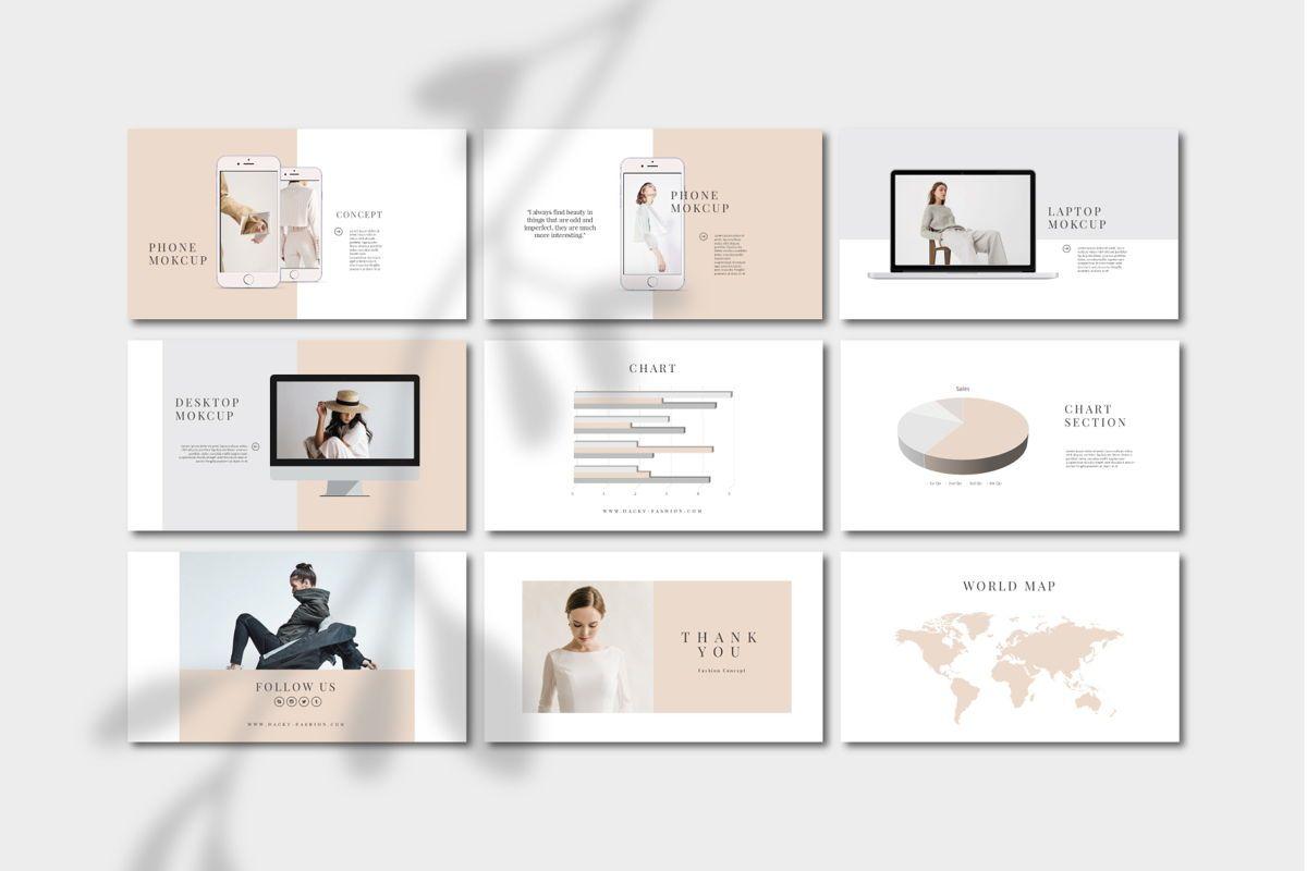 DACKY - PowerPoint Template, Slide 5, 04628, Presentation Templates — PoweredTemplate.com