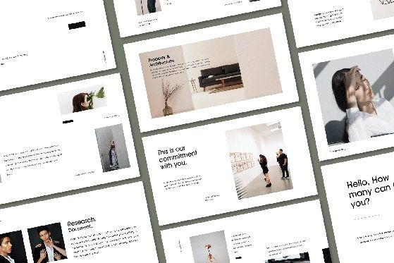 Presentation Templates: LINEUP - PowerPoint Template #04631
