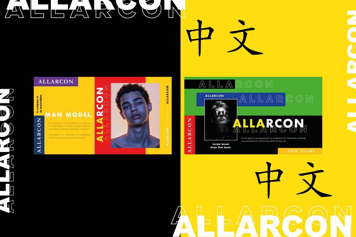 ALLARCON - Google Slides, Slide 4, 04647, Presentation Templates — PoweredTemplate.com