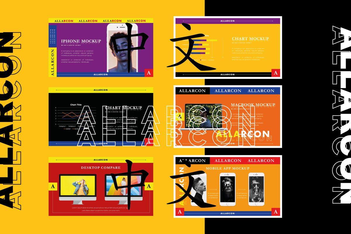 ALLARCON - Google Slides, Slide 8, 04647, Presentation Templates — PoweredTemplate.com