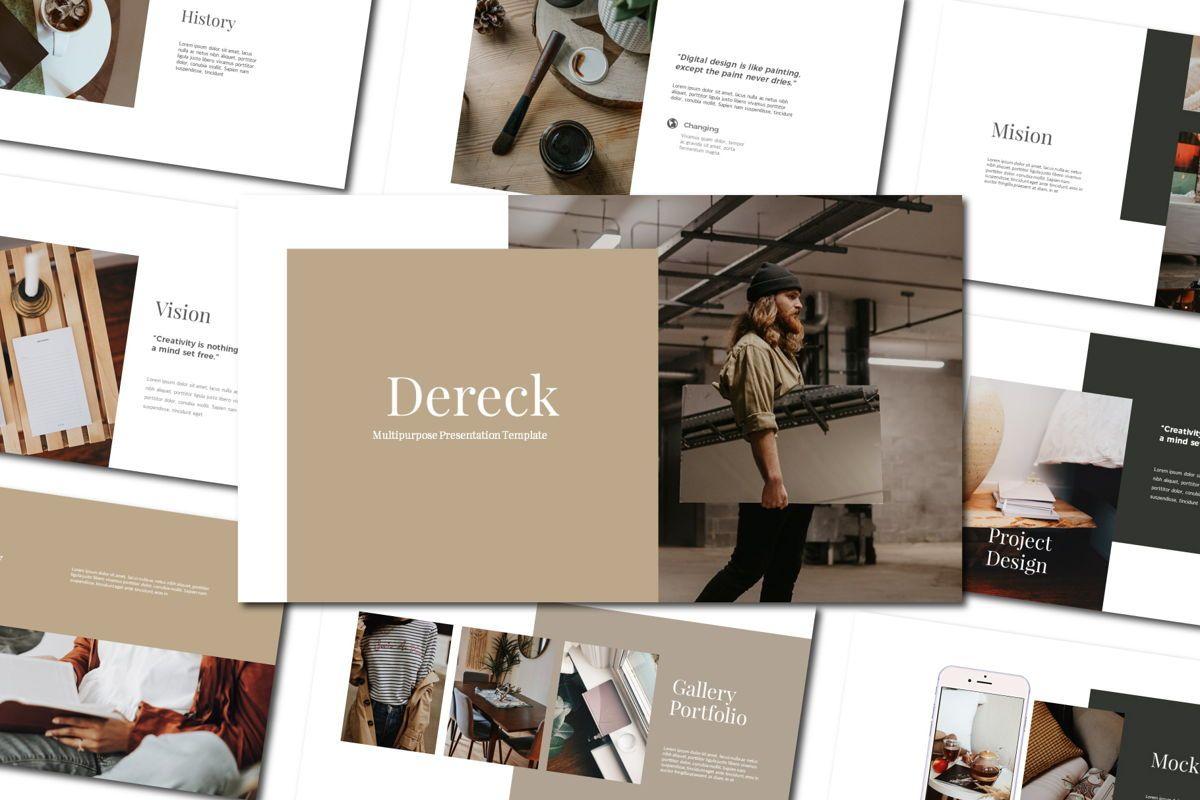DERECK - Google Slides, 04654, Presentation Templates — PoweredTemplate.com