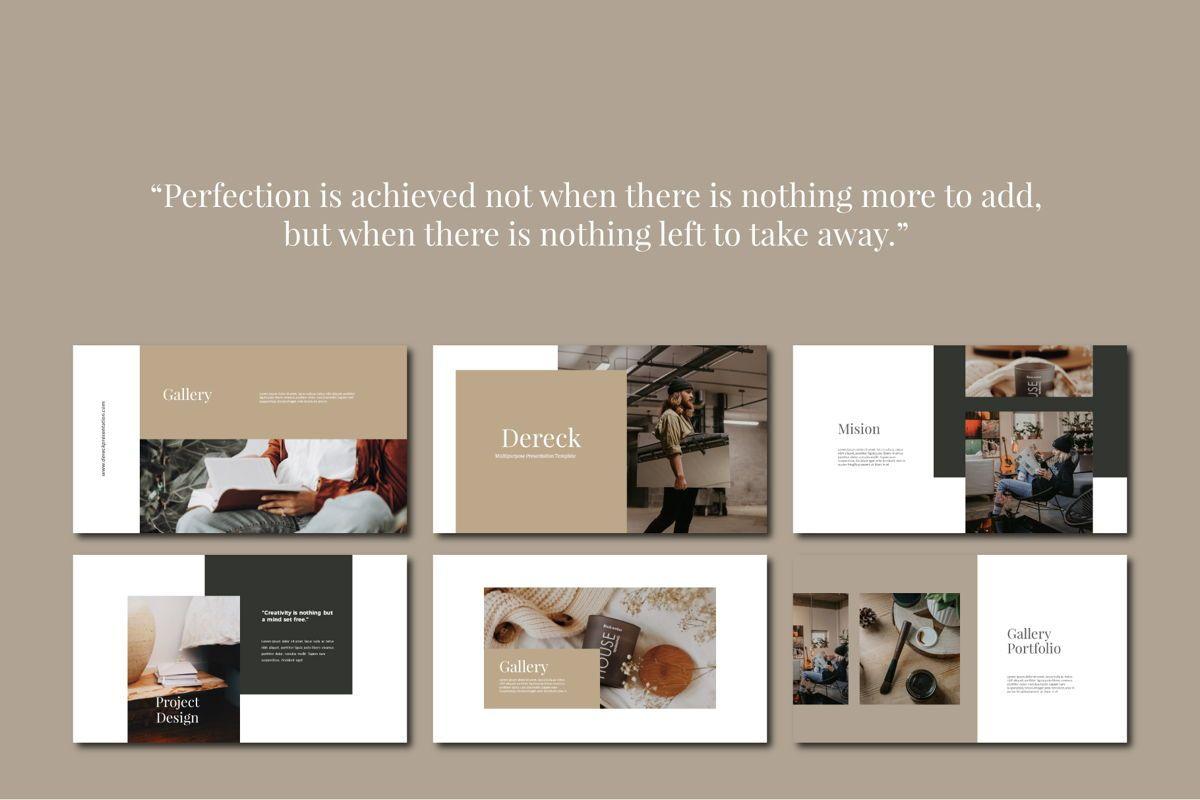 DERECK - Google Slides, Slide 2, 04654, Presentation Templates — PoweredTemplate.com