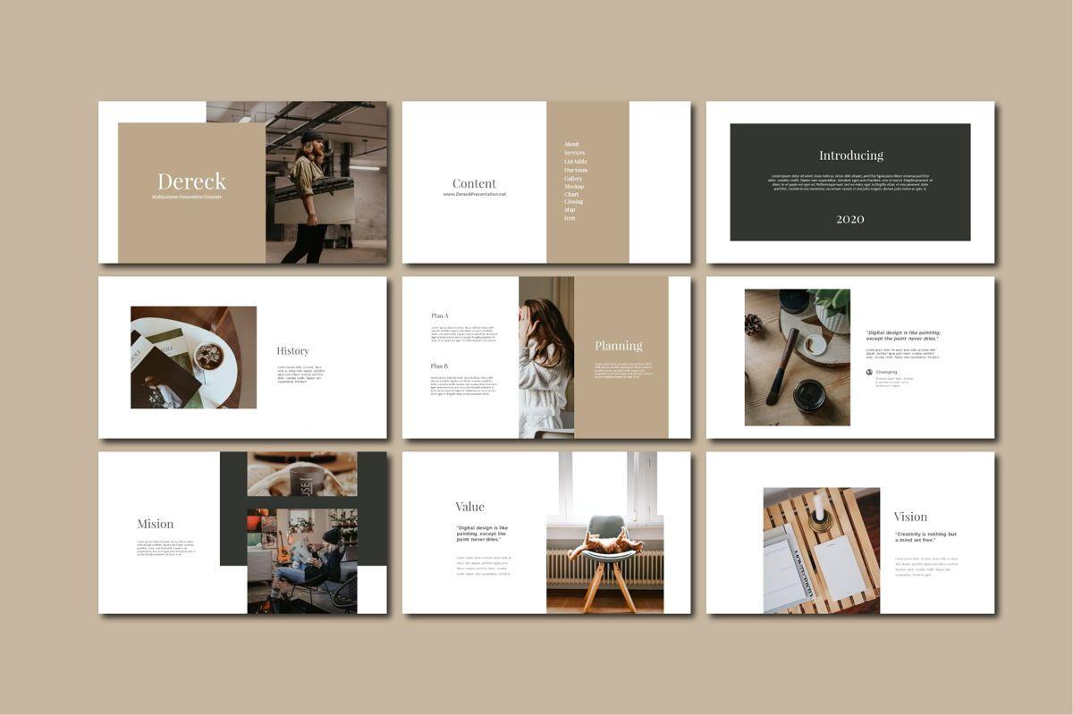 DERECK - Google Slides, Slide 4, 04654, Presentation Templates — PoweredTemplate.com