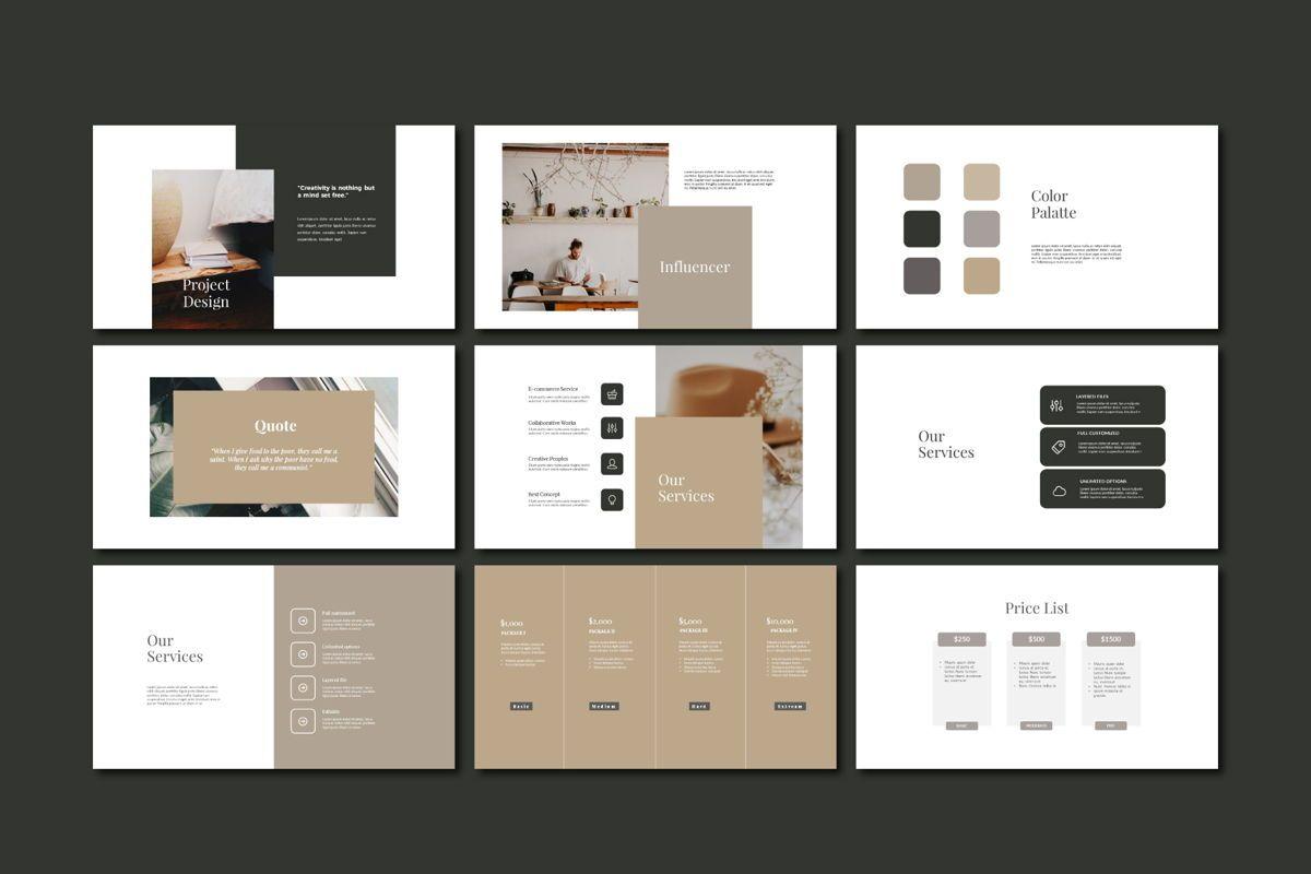 DERECK - Google Slides, Slide 5, 04654, Presentation Templates — PoweredTemplate.com