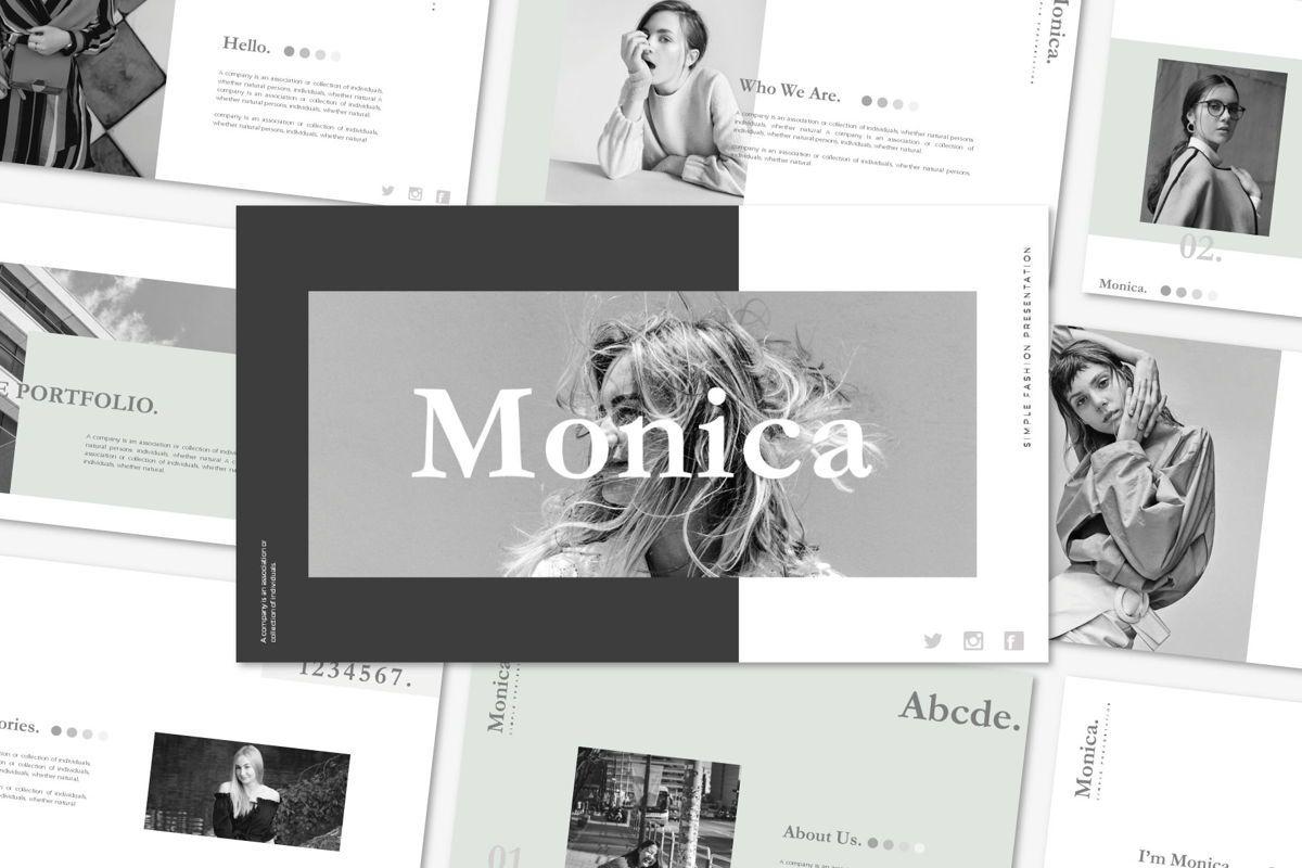 MONICA - Google Slides, 04655, Presentation Templates — PoweredTemplate.com