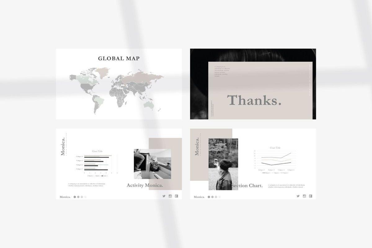 MONICA - Google Slides, Slide 10, 04655, Presentation Templates — PoweredTemplate.com
