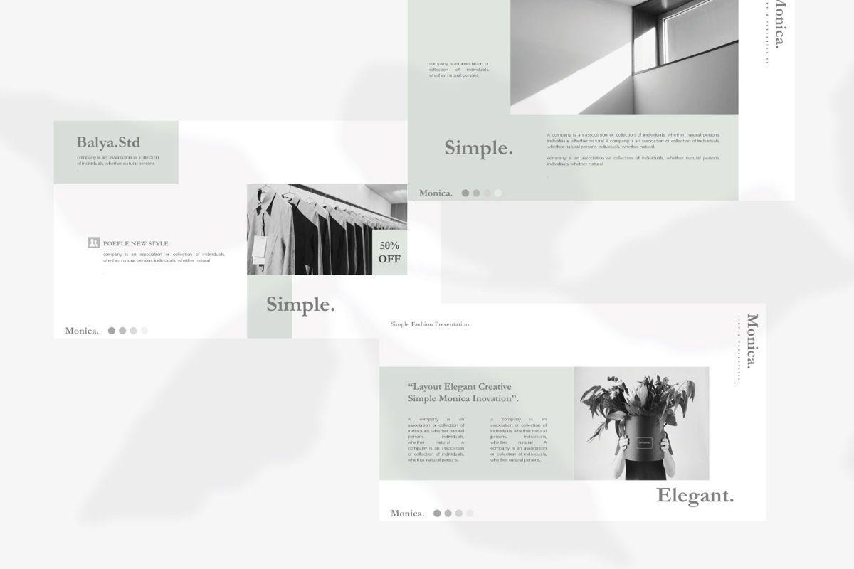MONICA - Google Slides, Slide 3, 04655, Presentation Templates — PoweredTemplate.com