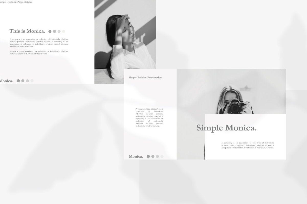 MONICA - Google Slides, Slide 4, 04655, Presentation Templates — PoweredTemplate.com