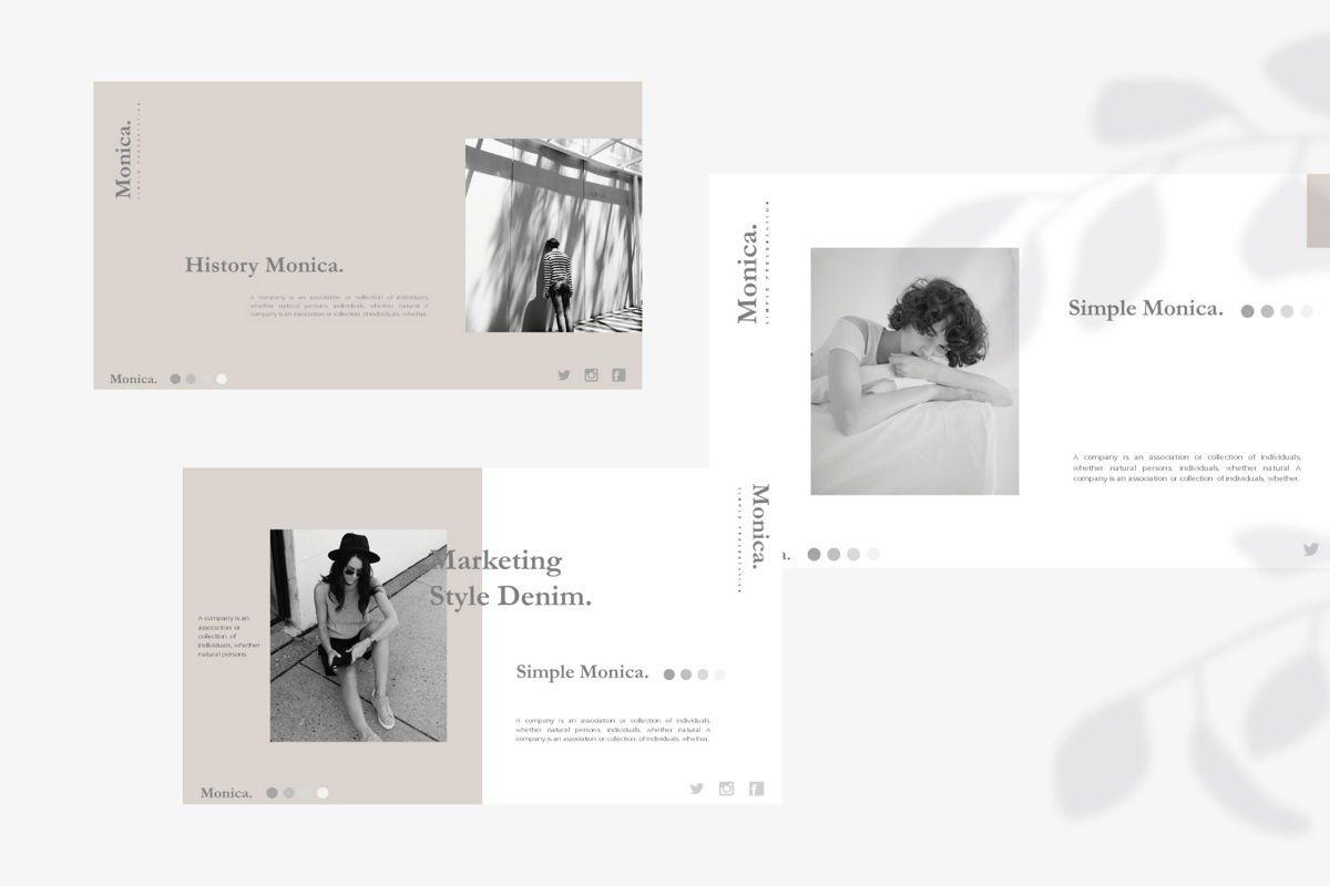 MONICA - Google Slides, Slide 5, 04655, Presentation Templates — PoweredTemplate.com