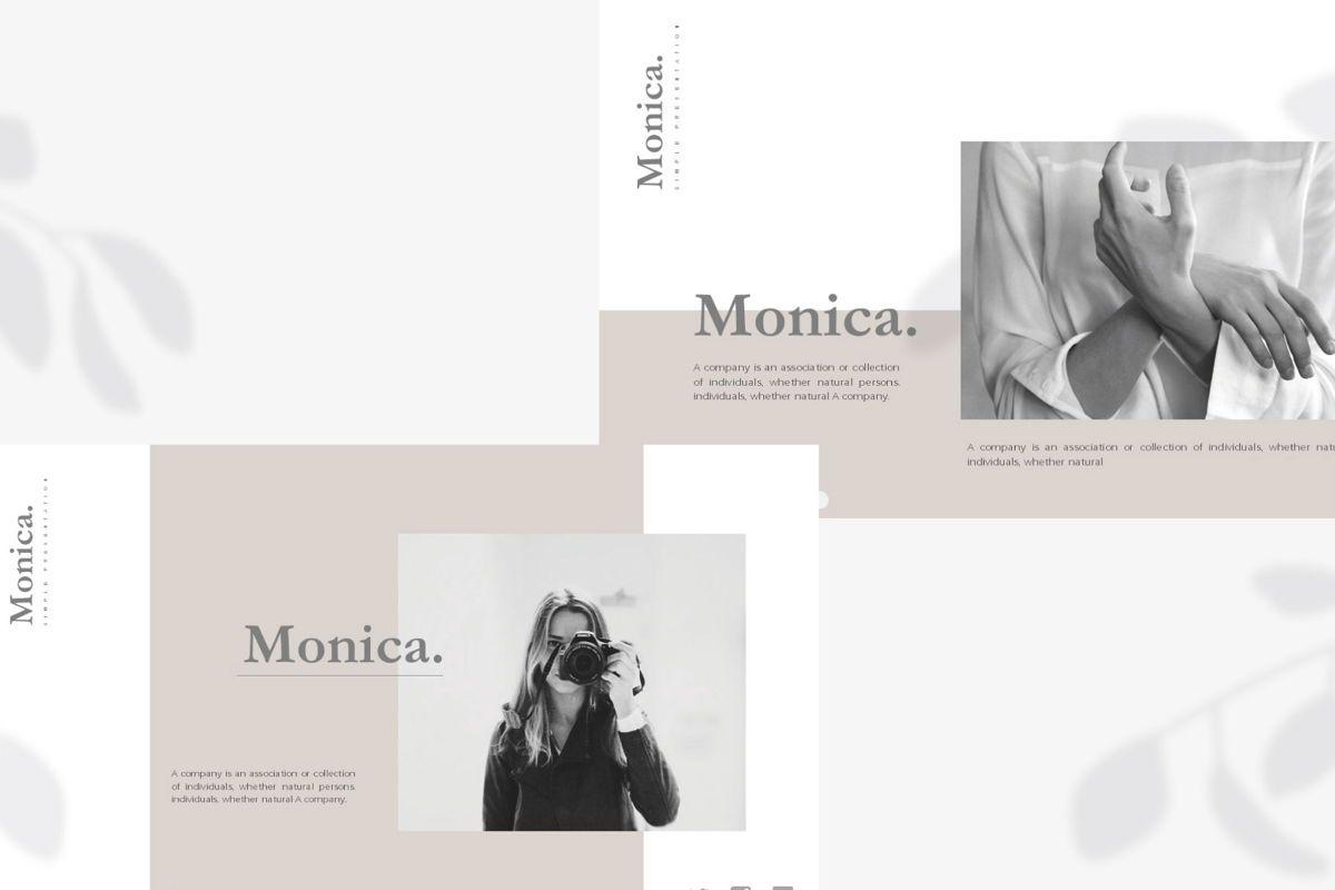 MONICA - Google Slides, Slide 7, 04655, Presentation Templates — PoweredTemplate.com