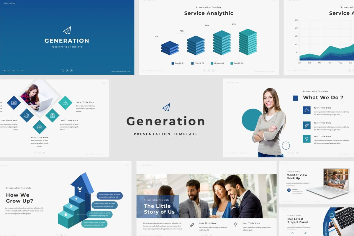 GENERATION - Google Slides, Slide 2, 04656, Presentation Templates — PoweredTemplate.com