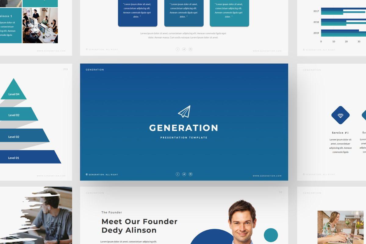 GENERATION - Google Slides, Slide 3, 04656, Presentation Templates — PoweredTemplate.com