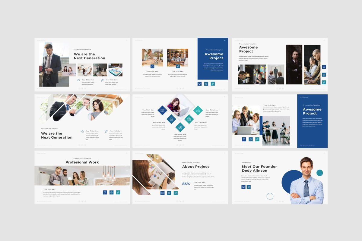 GENERATION - Google Slides, Slide 7, 04656, Presentation Templates — PoweredTemplate.com