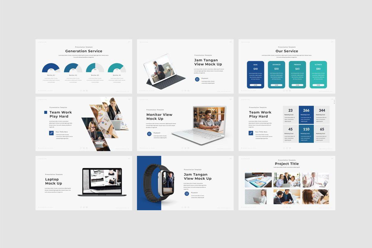 GENERATION - Google Slides, Slide 9, 04656, Presentation Templates — PoweredTemplate.com