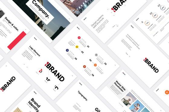 Presentation Templates: ONE BRAND - Google Slides #04657