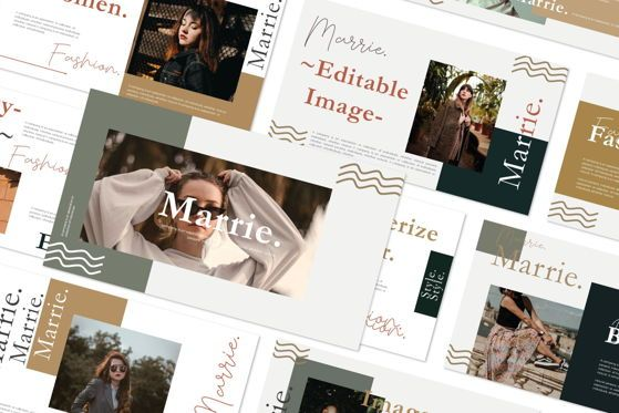Presentation Templates: MARRIE - Google Slides #04663