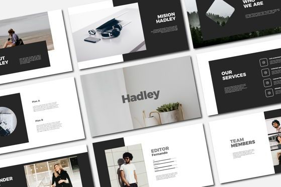 Presentation Templates: HEADLEY - Keynote Template #04695