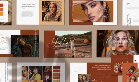 Presentation Templates: HOLLY - Keynote Template #04708
