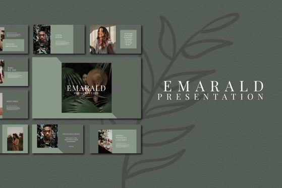 Presentation Templates: EMARALD - Keynote Template #04713