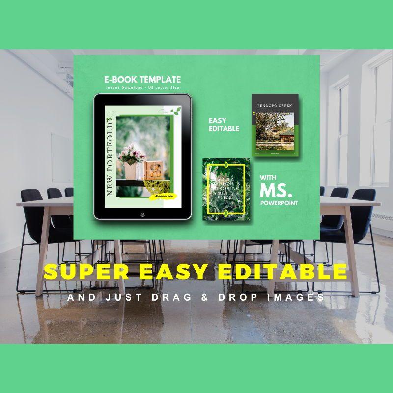 Photography Portfolio eBook PowerPoint Template, Slide 10, 04717, Presentation Templates — PoweredTemplate.com