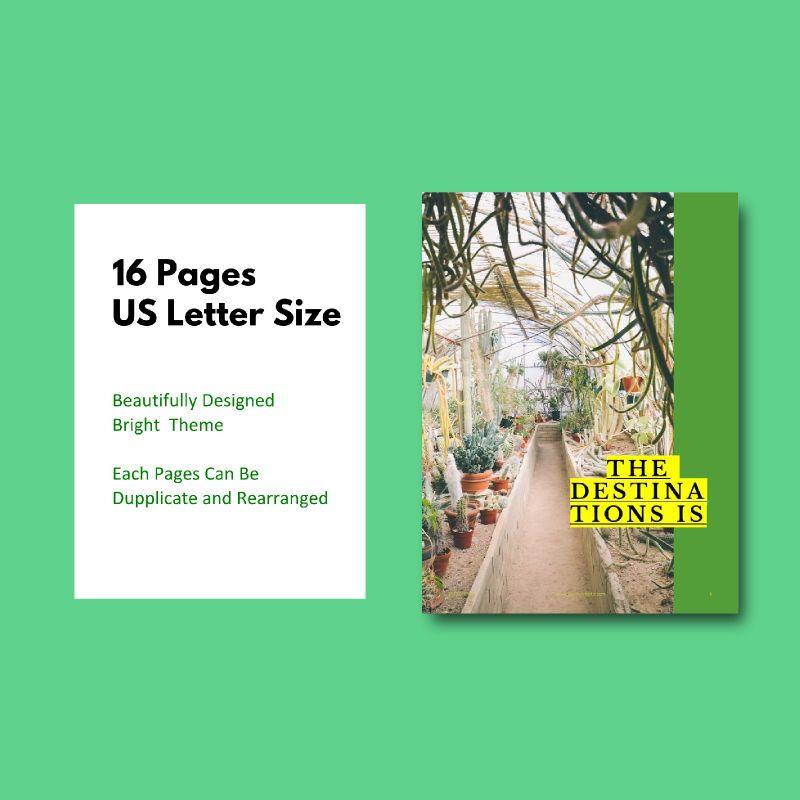 Photography Portfolio eBook PowerPoint Template, Slide 5, 04717, Presentation Templates — PoweredTemplate.com