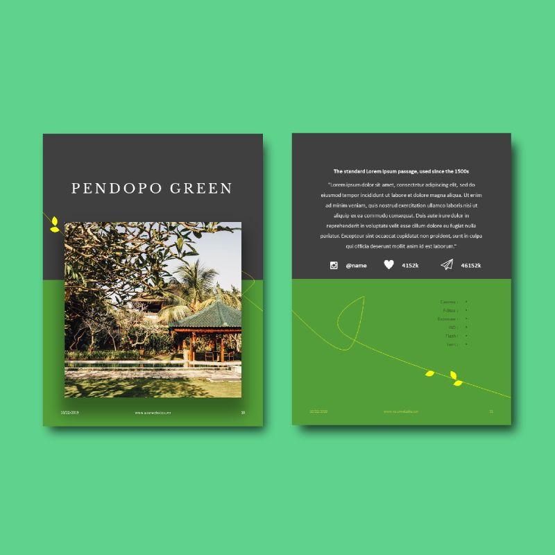 Photography Portfolio eBook PowerPoint Template, Slide 7, 04717, Presentation Templates — PoweredTemplate.com