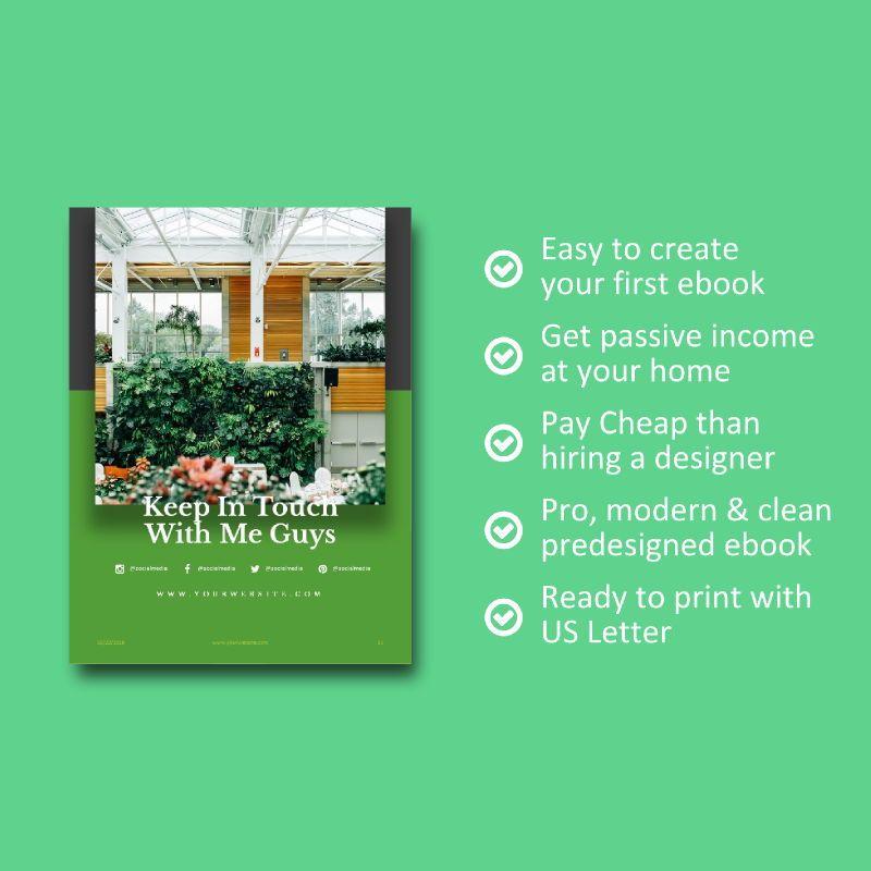 Photography Portfolio eBook PowerPoint Template, Slide 9, 04717, Presentation Templates — PoweredTemplate.com