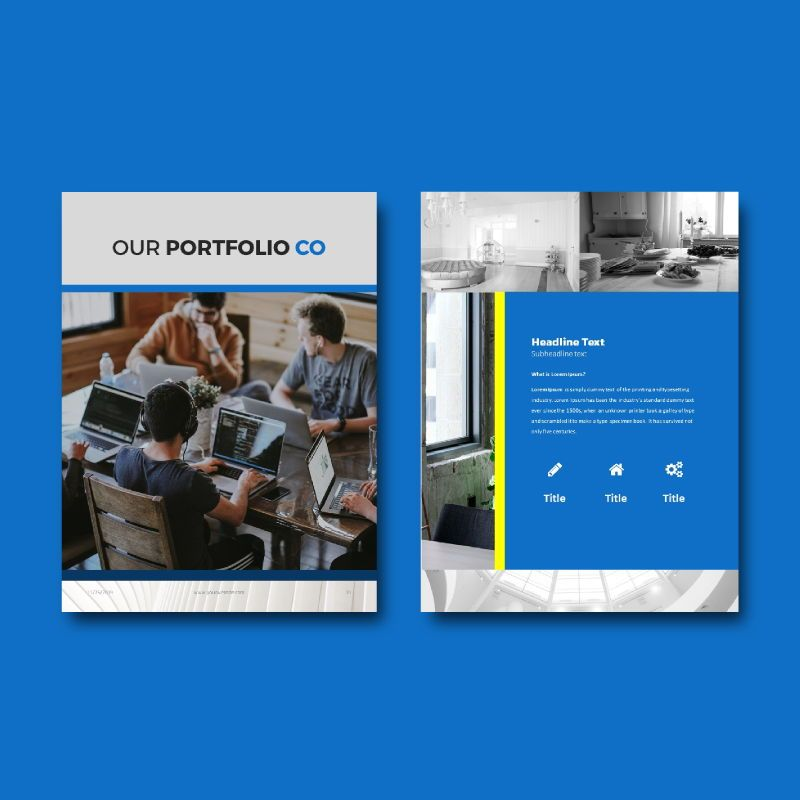 Company Profile 2020 eBook PowerPoint Template zip, Slide 7, 04720, Business Models — PoweredTemplate.com