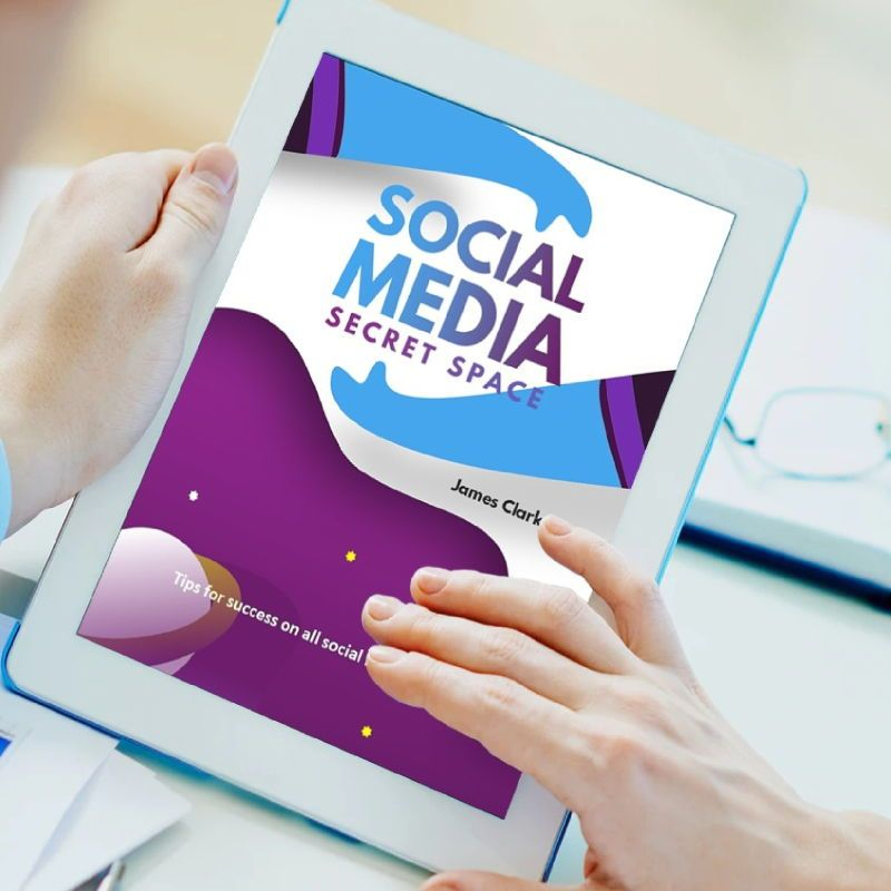 Social Media Secret eBook PowerPoint Template, Slide 2, 04722, Infographics — PoweredTemplate.com