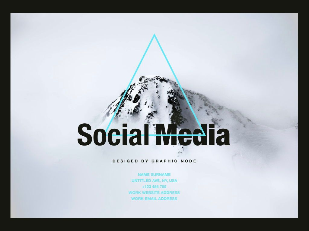Top Social Powerpoint and Google Slides Presentation Template, Slide 10, 04731, Presentation Templates — PoweredTemplate.com