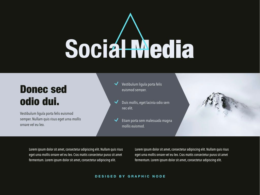 Top Social Powerpoint and Google Slides Presentation Template, Slide 8, 04731, Presentation Templates — PoweredTemplate.com