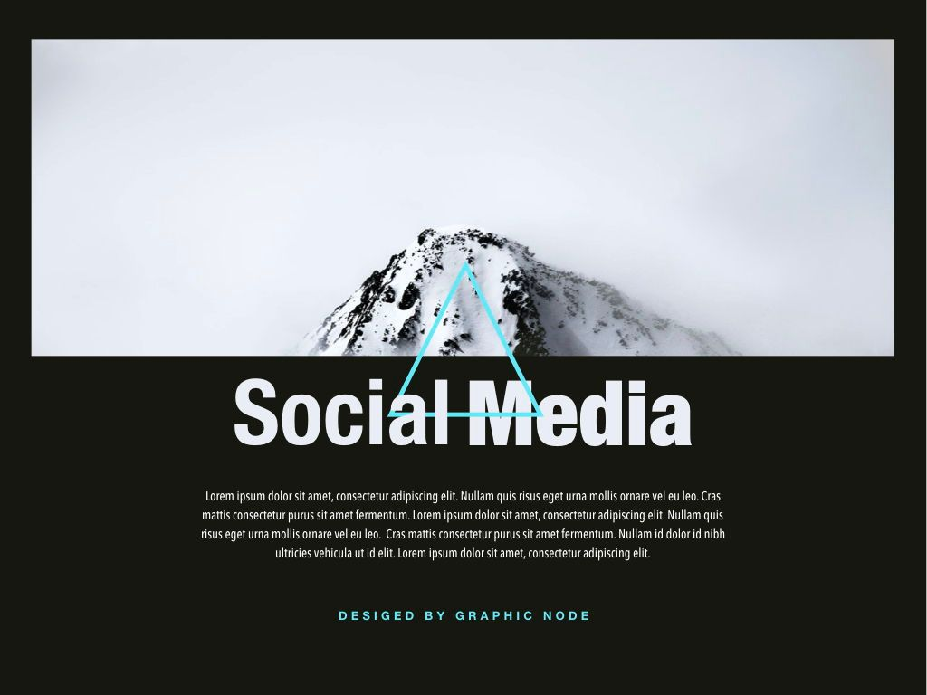 Top Social Powerpoint and Google Slides Presentation Template, Slide 9, 04731, Presentation Templates — PoweredTemplate.com