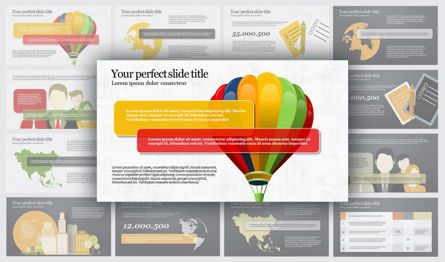 Infographics: Travel PowerPoint Infographics #04734