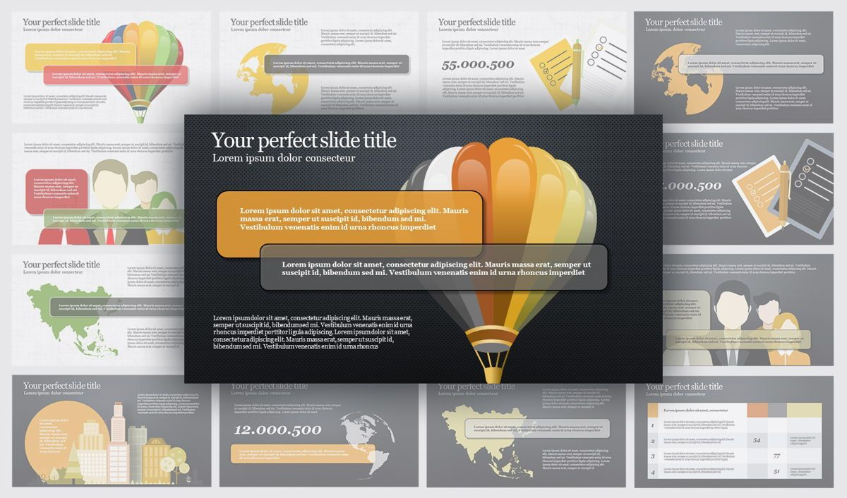 Travel PowerPoint Infographics, Slide 2, 04734, Infographics — PoweredTemplate.com