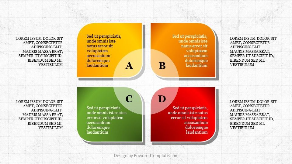 Four Stages PowerPoint Infographics, 04735, Infographics — PoweredTemplate.com