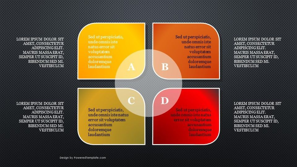 Four Stages PowerPoint Infographics, Slide 2, 04735, Infographics — PoweredTemplate.com