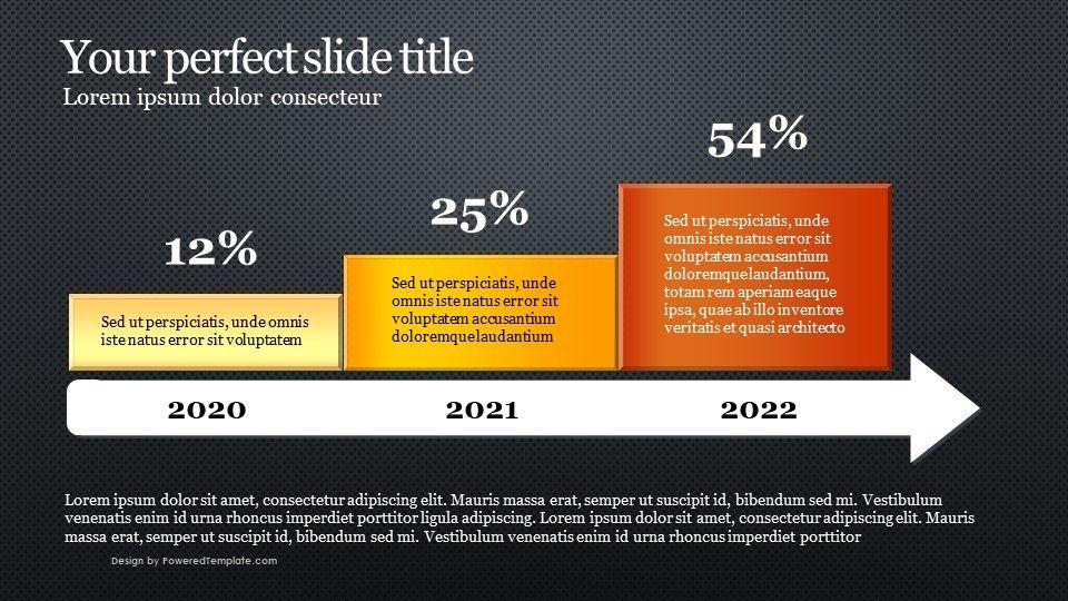 Arrow Report Diagram, 04736, Infographics — PoweredTemplate.com
