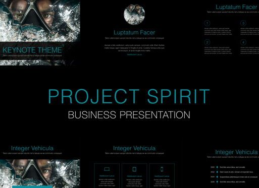 Business Models: Project Spirit Keynote Presentation Template #04740
