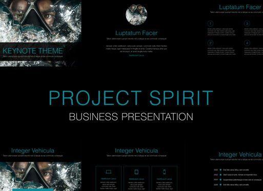 Business Models: Project Spirit Keynote Presentation Template #04740