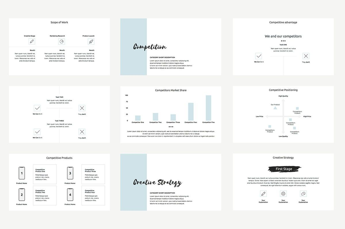 Agency Proposal PowerPoint Template, Slide 3, 04743, Infographics — PoweredTemplate.com